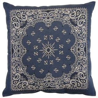 Bandy Denim 26-inch Floor Pillow