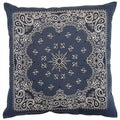 Bandy Denim 26-inch Floor Pillow