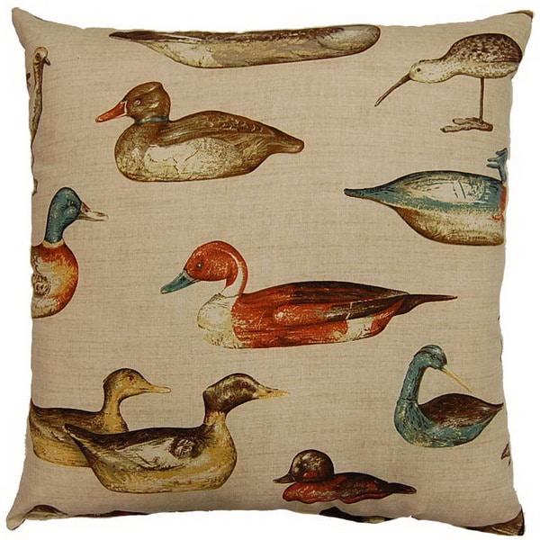 Gouvenour Bay Birch 26-inch Throw Floor Pillow