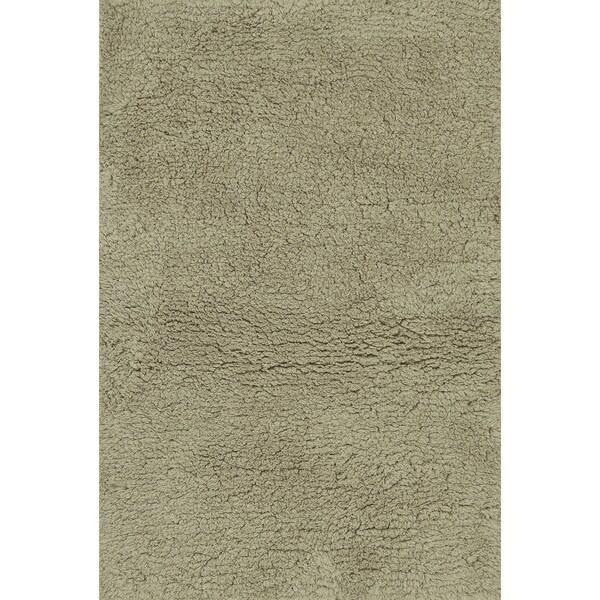 Hand-tufted Ellis Beige Shag Rug (9'3 x 13)