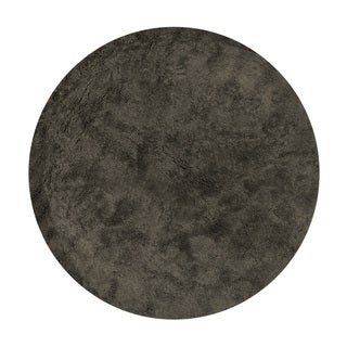 Hand-tufted Ellis Chocolate Shag Rug (7'10 x 7'10)