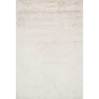 Hand-tufted Ellis Ivory Shag Rug (2'3 x 3'9)