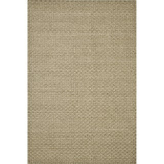 Hand-knotted Franklin Dune  Wool Rug (7'6 x 9'6)