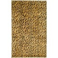 Safavieh Handmade Soho Beige/ Brown Wool Rug (11' x 15')