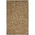 Safavieh Handmade Soho Brown/ Ivory Wool Rug (9' x 12')