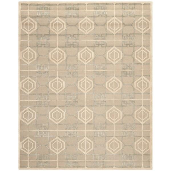 Safavieh Handmade Thom Filicia Logan Wool/ Viscose Rug (9' x 12')
