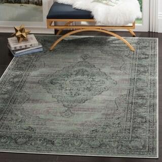 Safavieh Vintage Light Grey Viscose Rug (8'10 x 12'2)