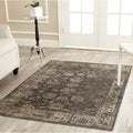 Safavieh Vintage Soft Anthracite Viscose Rug (8'10 x 12'2)