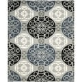 Safavieh Handmade Wyndham Grey/ Black Wool Rug (10' x 14')