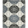 Safavieh Handmade Wyndham Grey/ Black Wool Rug (8'9 x 12')