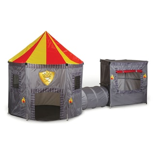 Pacific Play Tents Kings Kingdom Castle Tent and Tunnel Combo