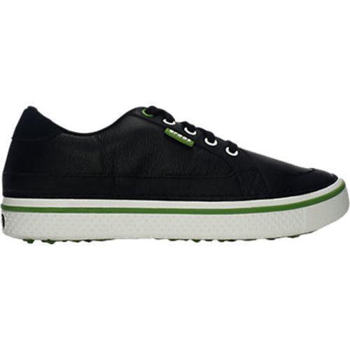 Men's Crocs Bradyn Black/Parrot Green