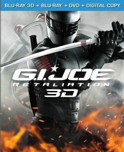 G.I. Joe: Retaliation 3D (Blu-ray/DVD)