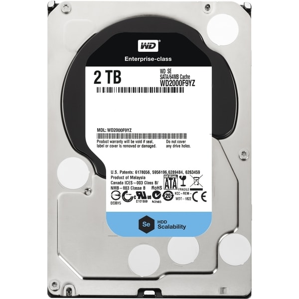 "WD WD2000F9YZ 2 TB 3.5"" Internal Hard Drive"