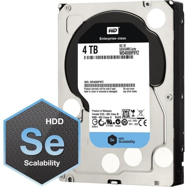"""WD WD4000F9YZ 4 TB 3.5"""" Internal Hard Drive"""