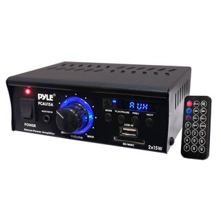 PyleHome PCAU15A Amplifier - 30 W RMS - 2 Channel