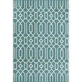 Links Blue Indoor/ Outdoor Rug (7'10 x 10'10)