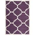 Safavieh Handmade Moroccan Purple Wool Indoor Rug (6' x 9')
