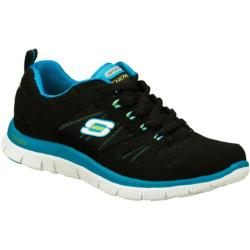 Women's Skechers Flex Appeal Spring Fever Black/Blue