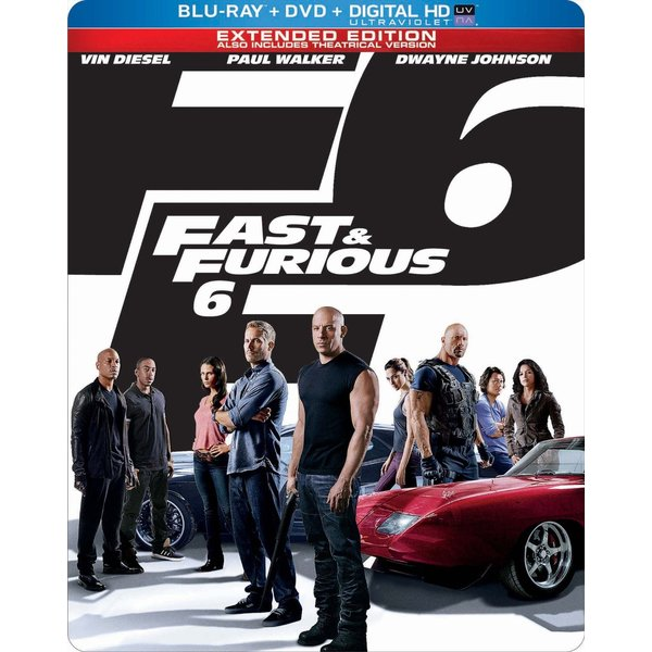Fast & Furious 6 (Limited Edition) (Blu-ray/DVD) 11254869