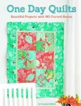 One Day Quilts: Beautiful Projects with NO Curved Seams (Paperback)