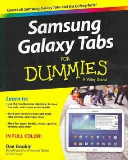 Samsung Galaxy Tabs for Dummies (Paperback)