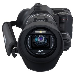 "JVC GC-PX100B Digital Camcorder - 3"" - Touchscreen LCD - CMOS - Full"