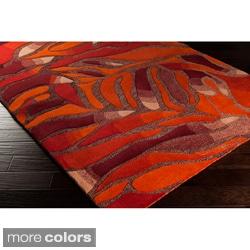 Malene B Hand-tufted Destinations Contemporary Wool Rug (5' x 8')