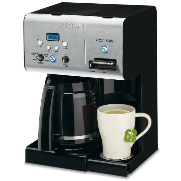 Cuisinart CHW-12 12-cup Programmable Coffeemaker with Hot Water System (As Is Item) 33090815