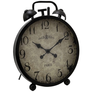 Casa Cortes Oversized Metal Table Clock