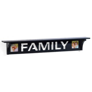 Mellannco 'Family' 30-inch Wall Shelf