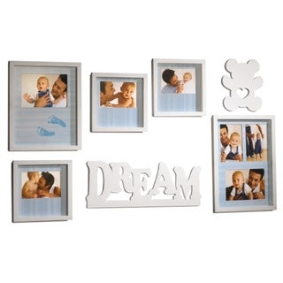 Mellannco 7-piece 'Baby Dream Wall' Photo Frame Set