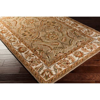 Hand-tufted Royal Khaki Area Rug (5' x 8')