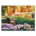 David Lloyd Glover 'Secret Garden Chair' Canvas Art