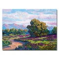 David Lloyd Glover 'California Hills' Canvas Art