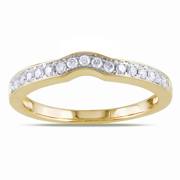 14k yellow gold 4ct wedding rings