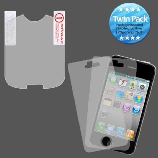 INSTEN Clear Screen Protector Twin Pack for Pantech TXT8045 Jest 2/ Verse