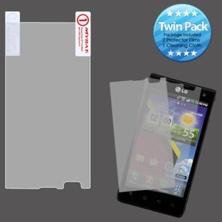 BasAcc Screen Protector Twin Pack for LG VS840 Lucid 4G