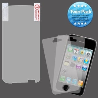 INSTEN Clear Screen Protector Twin Pack for LG P930 Nitro HD