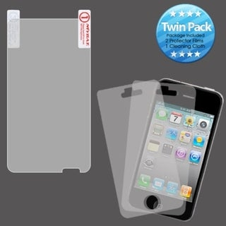 INSTEN Clear Screen Protector Twin Pack for HTC X310a Titan