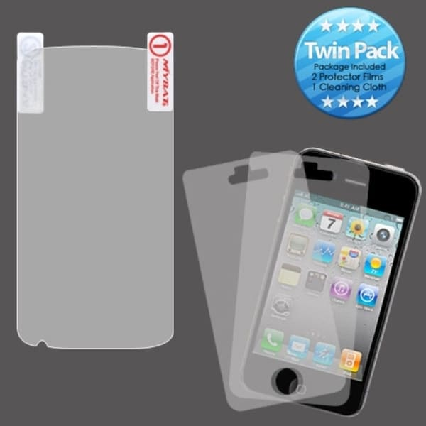 INSTEN Clear Screen Protector Twin Pack for HTC Sensation 4G