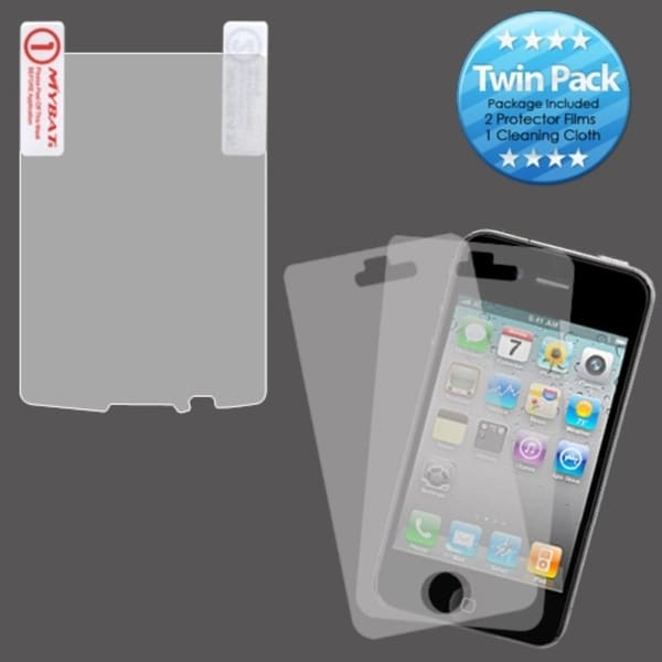 INSTEN Clear Screen Protector Twin Pack for Blackberry Torch 9800/ 9810 4G
