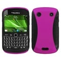 BasAcc Hot Pink/ Black Mixy Case for Blackberry Bold 9930/ 9900