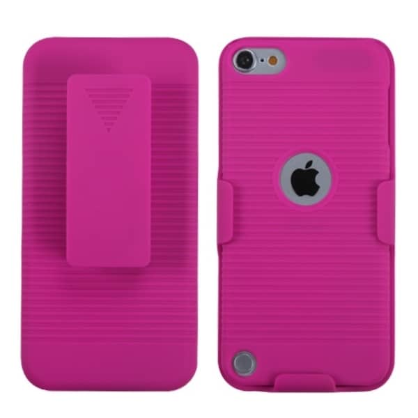 INSTEN Hot Pink Hybrid Holster for Apple iPod touch 5