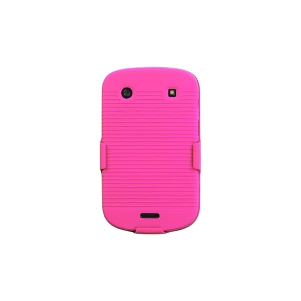 INSTEN Hot Pink Hybrid Holster for Blackberry Bold 9930/ 9900