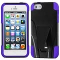 BasAcc Purple Inverse Armor Stand Protector Case for Apple� iPhone 5
