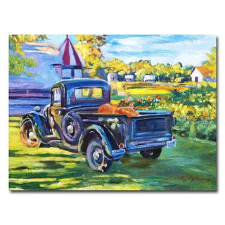 David Lloyd Glover 'The Pumpkin Pickup' Canvas Art