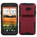 BasAcc Red/ Black Advanced Armor Stand Case for HTC EVO 4G LTE