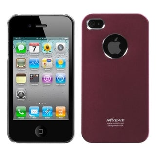 BasAcc Red Cosmo Back Case for Apple iPhone 4S/ 4