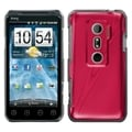 BasAcc Red Cosmo Back Case for HTC EVO 3D/ EVO V 4G